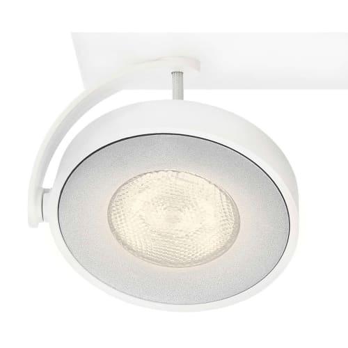 Image of   Philips myLiving spot - Clockwork - Hvid