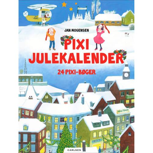 Pixi Indeholder 24 Pixi-bøger Indbundet