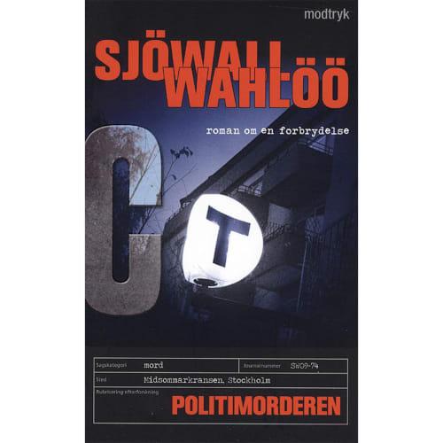 Politimorderen - Roman om en forbrydelse 9 - Paperback