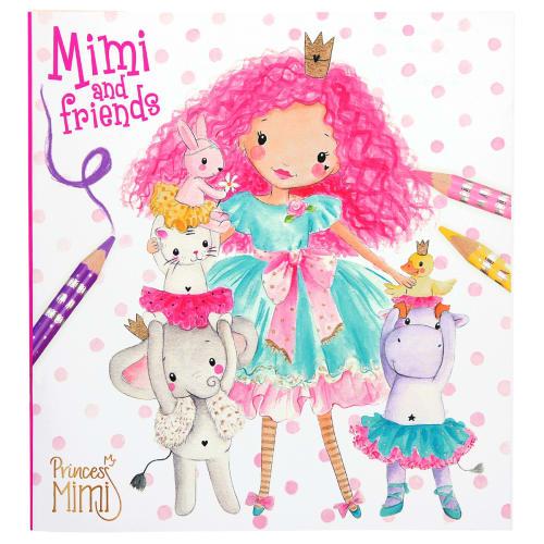 Image of   Princess Mimi malebog - Mimi and friends