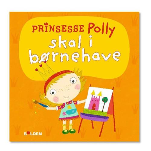 Prinsesse Polly skal i børnehave - Papbog