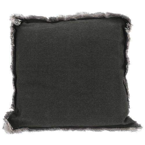 Pyntepude - Mørk grå