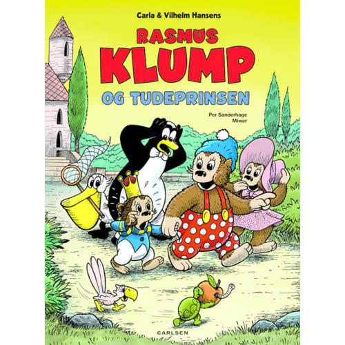 Rasmus Klump og tudeprinsen - Indbundet