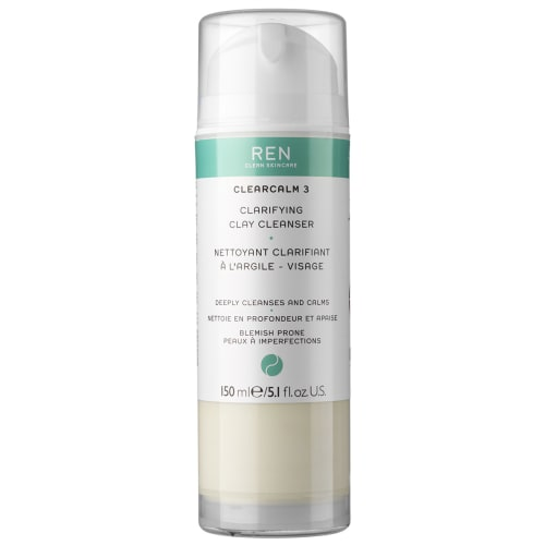 Image of   Ren Clearcalm Anti-blemish Clay Cleanser - 150 ml