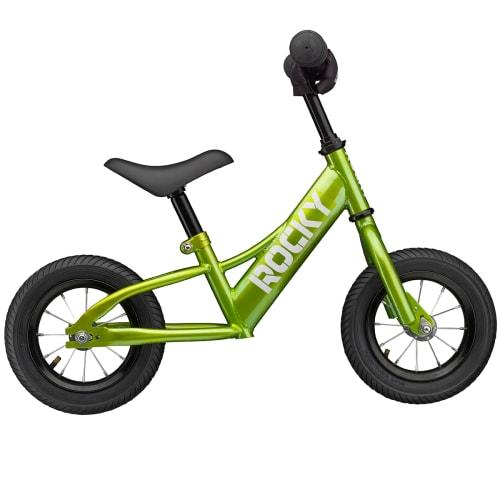 """Rocky 10"""" løbecykel - Grøn"""