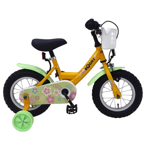 "Rocky Lucca 12"" pigecykel - Gul"