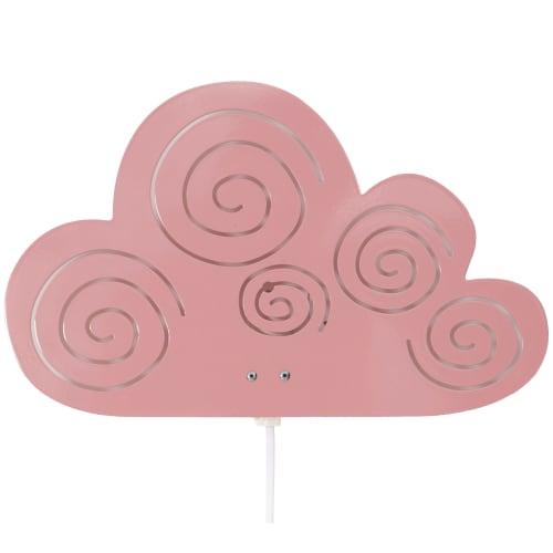 Roommate børnelampe - Cloud Silhouette - Rosa