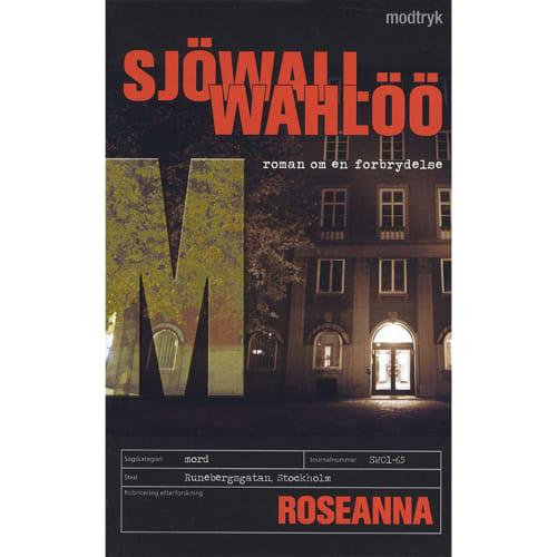 Roseanna - Roman om en forbrydelse 1 - Paperback