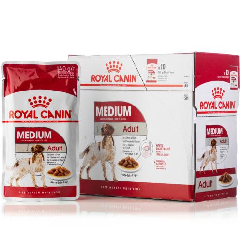 Royal Canin hundemad - Adult Medium menu - 10 stk.