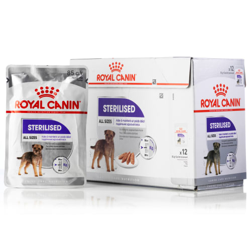 Royal Canin hundemad - Adult Sterilised Care - 12 stk.