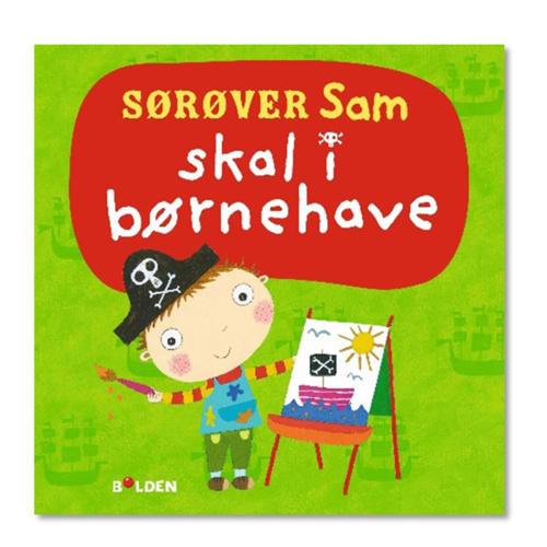 Sørøver Sam skal i børnehave - Papbog