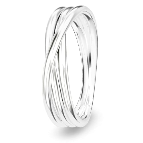 Image of   Spinning Jewelry ring - Dedication - Rhodineret sterlingsølv