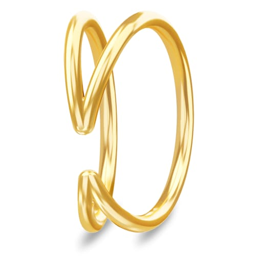 Image of   Spinning Jewelry ring - Humanity - Forgyldt sterlingsølv
