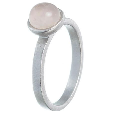 Image of   Spinning Jewelry ring - Sea - Rhodineret sterlingsølv