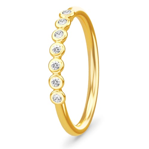 Image of   Spinning Jewelry ring - Sensation - Forgyldt sterlingsølv