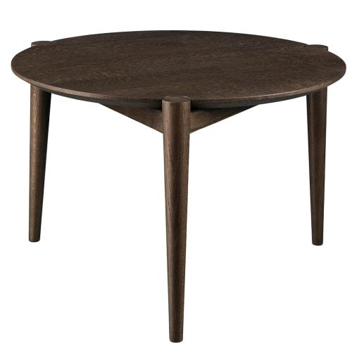 Stine Weigelt sofabord - D102 Søs - Ø 55 cm - Bejdset eg