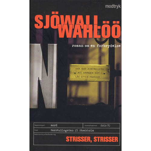 Strisser, strisser - Roman om en forbrydelse 6 - Paperback