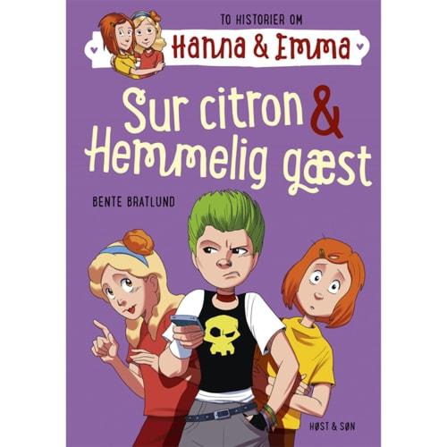 Sur citron & Hemmelig gæst - Hanna & Emma 4 - Indbundet