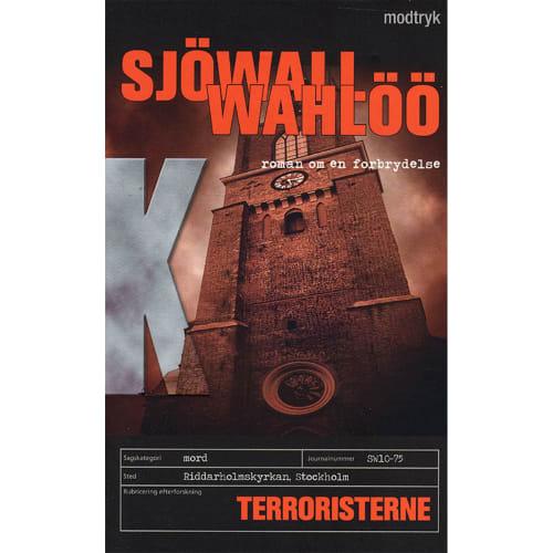 Terroristerne - Roman om en forbrydelse 10 - Paperback