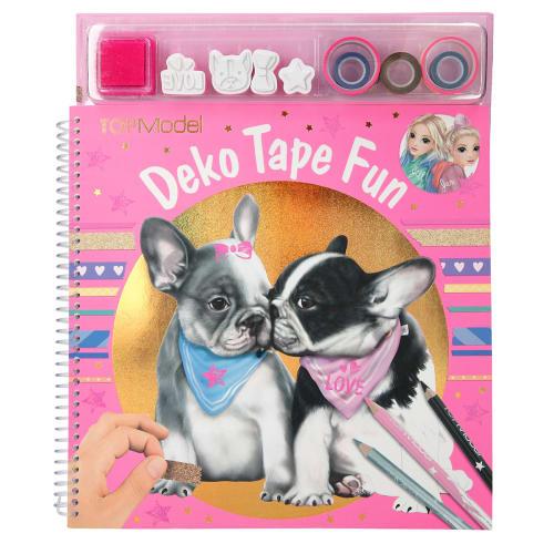 Image of   TOPModel malebog - Deko Tape Fun