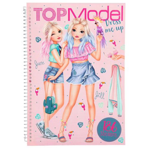 Image of   TOPModel stickerbog - Dress me up
