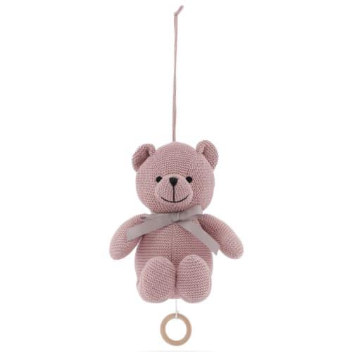Vanilla Copenhagen Musikuro - Music Little Teddy Bear - Rose