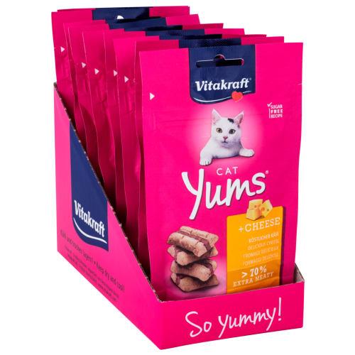 Vitakraft kattesnacks - Cat Yums - 8 stk.