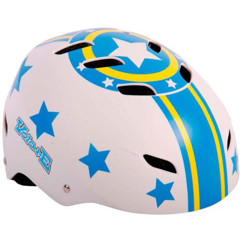 Volare cykelhjelm til børn - Blue Stars