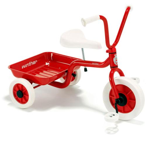 Billede af Winther trehjulet cykel - Rød
