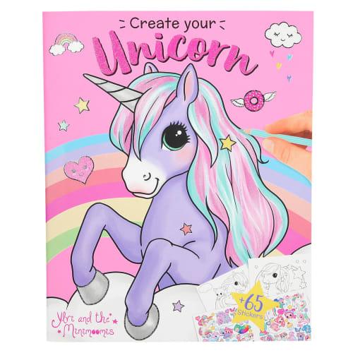 Image of   Ylvi and the Minimoomis malebog - Create your unicorn
