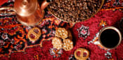 Arabisk kaffebord