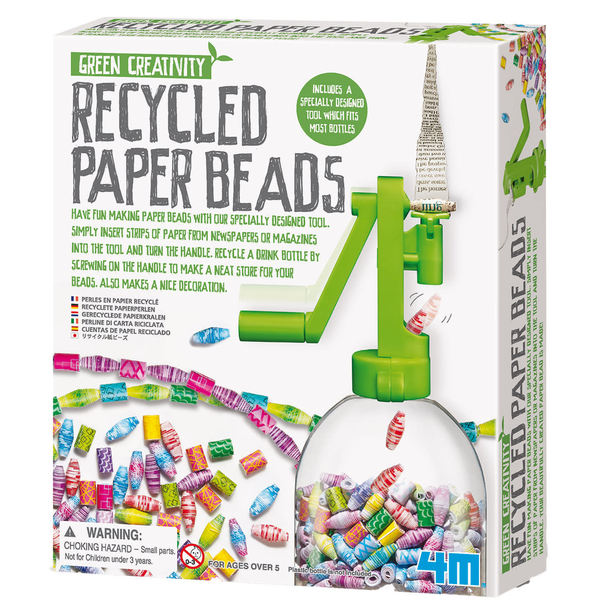 Lav perler ud af genbrugspapir