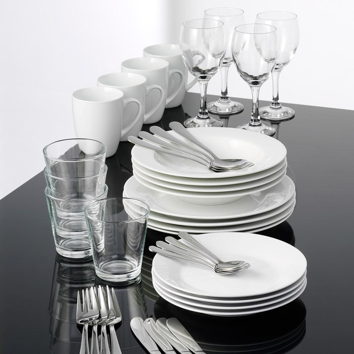 Porcelæn - 40 dele til 4 personer