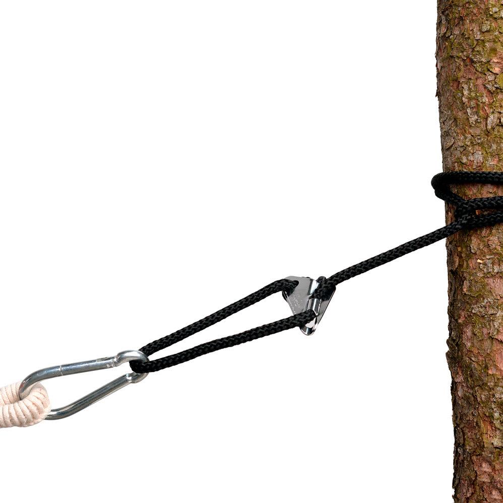 Til ophængning af hængekøjer og hængestole