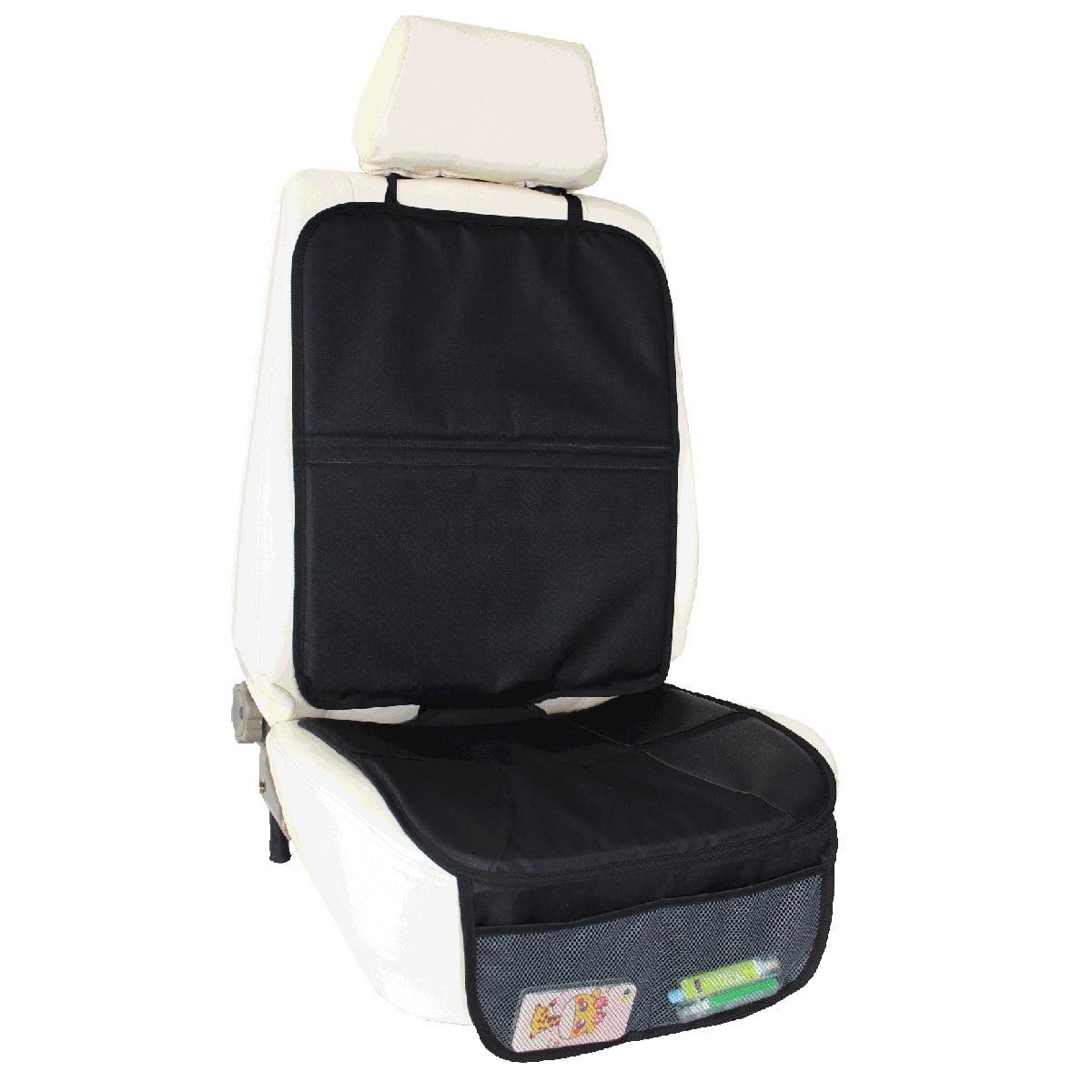 Beskyt bilsædet med smart betræk med lommer til opbevaring
