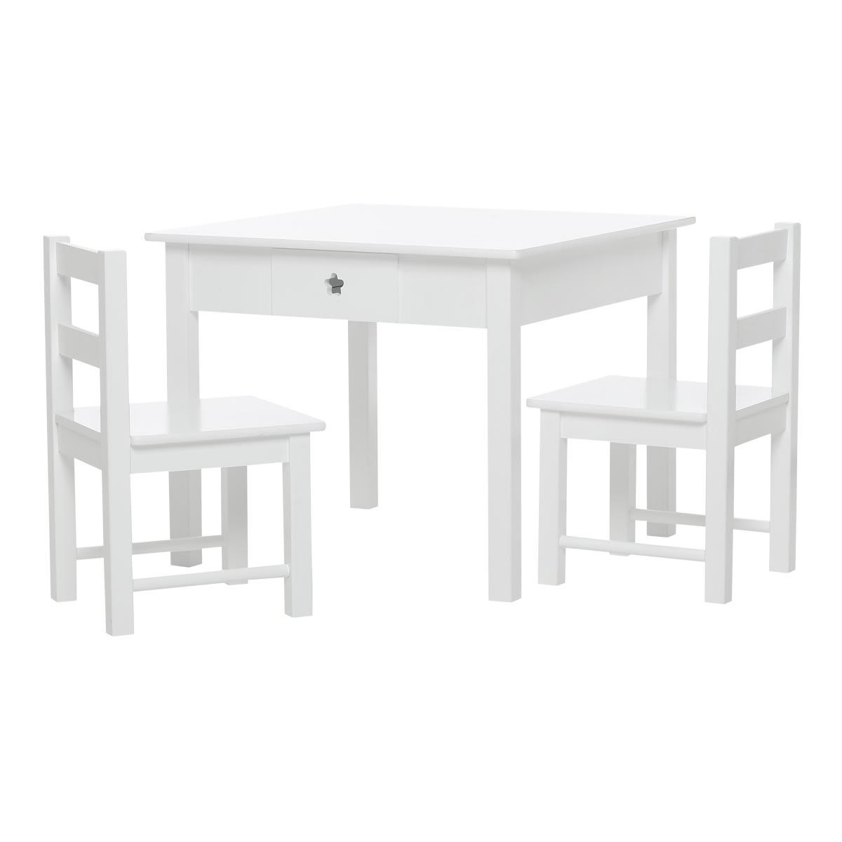 Møbelsæt med bord og stole til børneværelset - Coop.dks eget brand