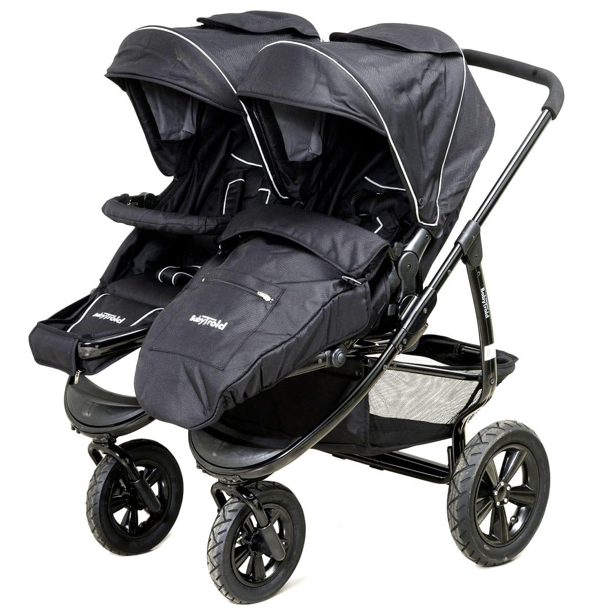 Letvægts-stålstel - Vendbar - Tilkøb barnevognslift - Inkl. køreposer