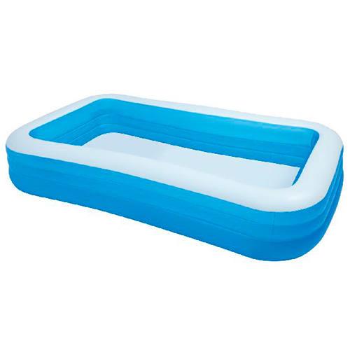 H 56 x B 183 x L 305 cm - Oppustelig pool med plads til hele familien