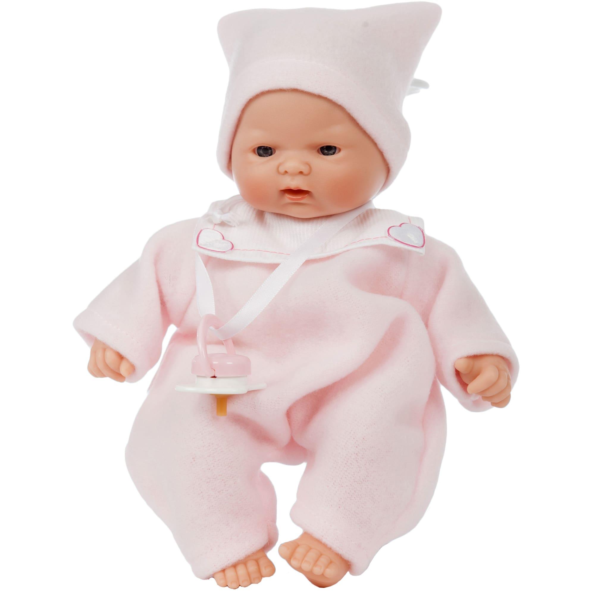 24 cm - Med livagtige træk og blød krop - God til mindre børn
