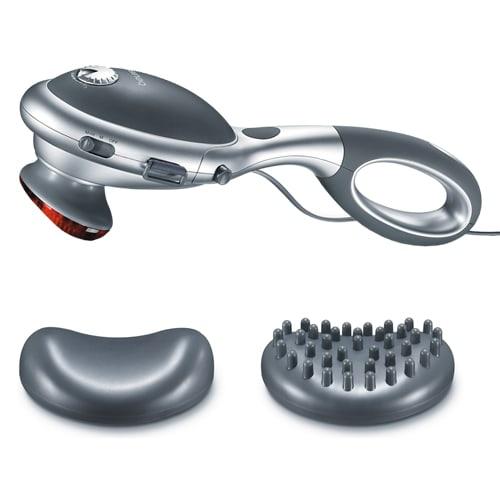 Med 2 massagehoveder og justerbar intensitet