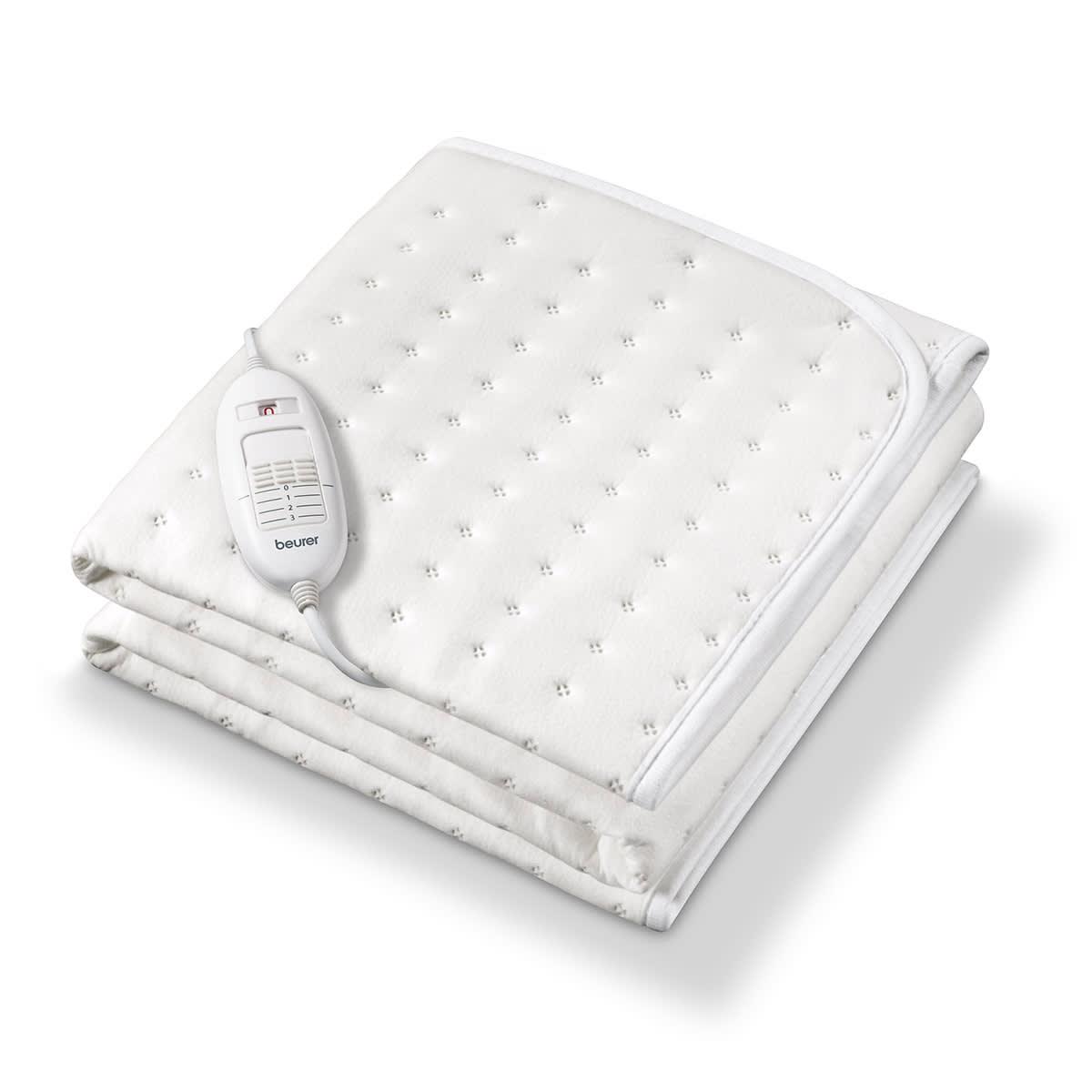 Varmeunderlag til sengen med oeko-tex fleece