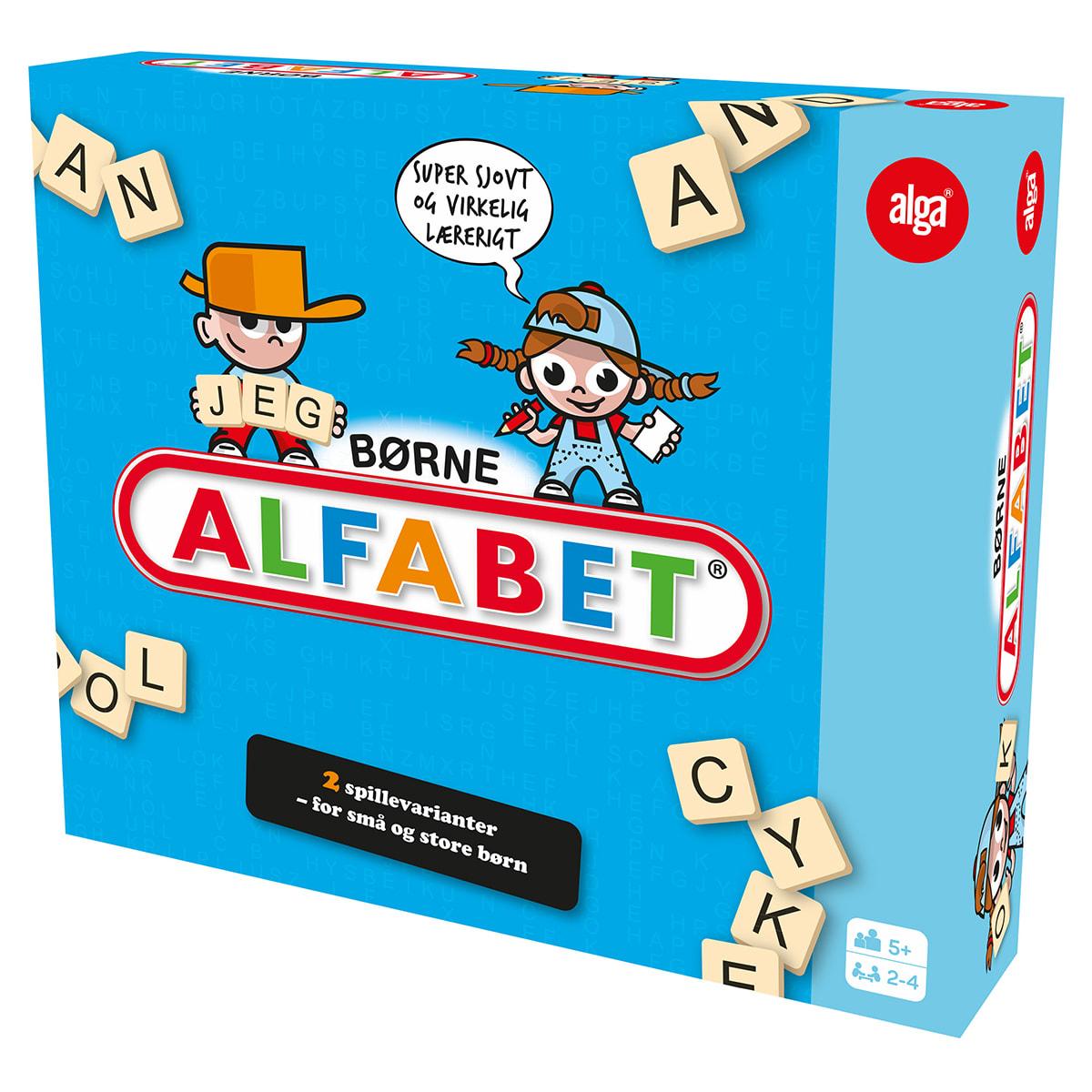 Lærerigt bogstav- og krydsordsspil