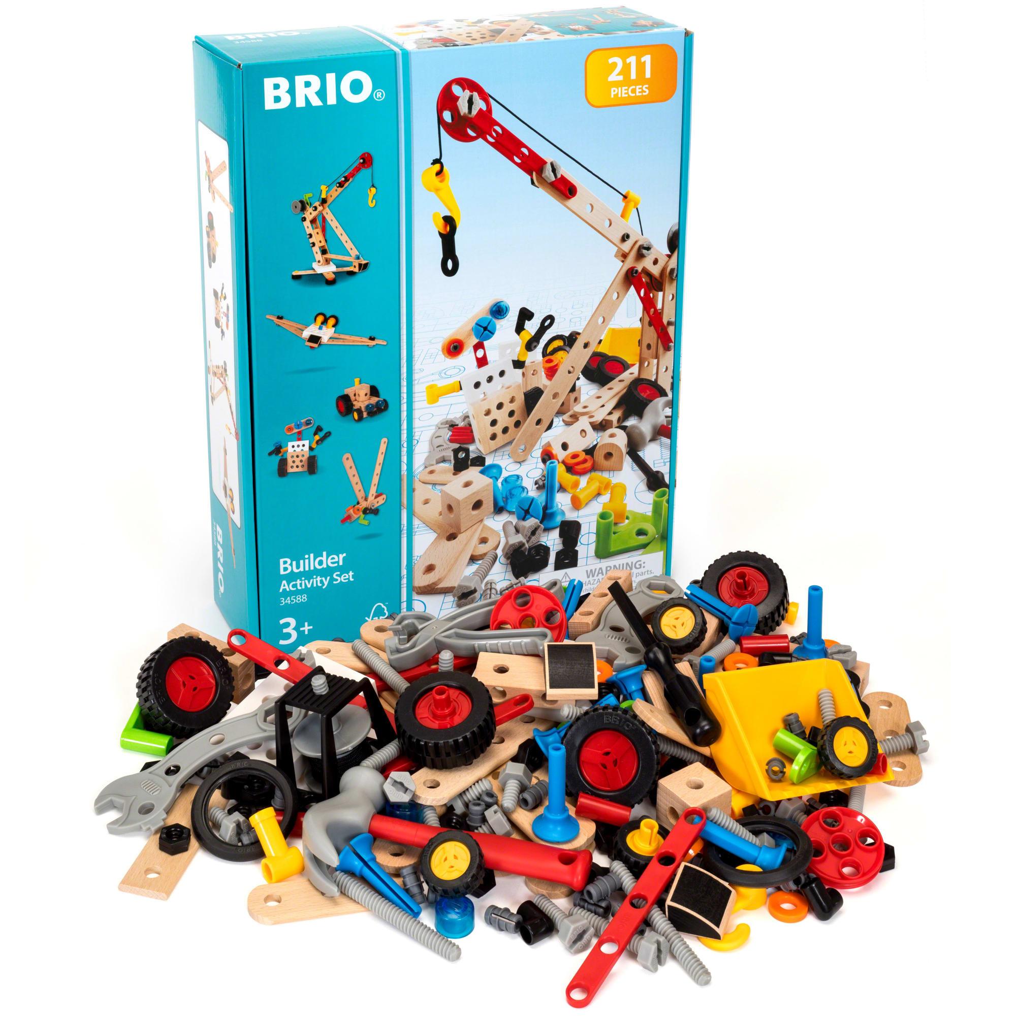 211 dele - Byg en kran, en flyvemaskine eller et fantasivæsen