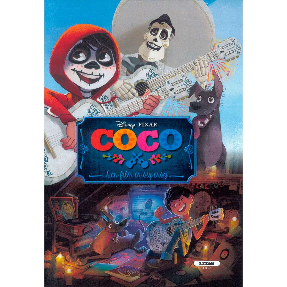 """Fin bog med vennerne fra """"Coco"""""""