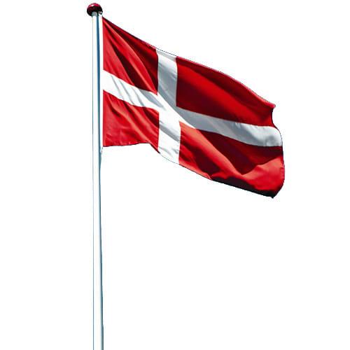 Inkl. vippebeslag, flag, vimpel