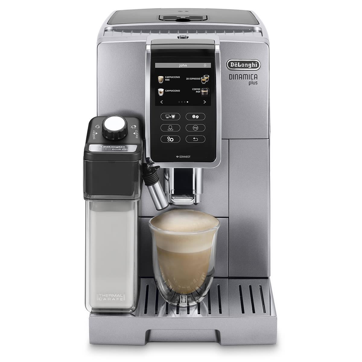 De'Longhi fuldautomatisk kaffemaskine - ECAM370.95.S