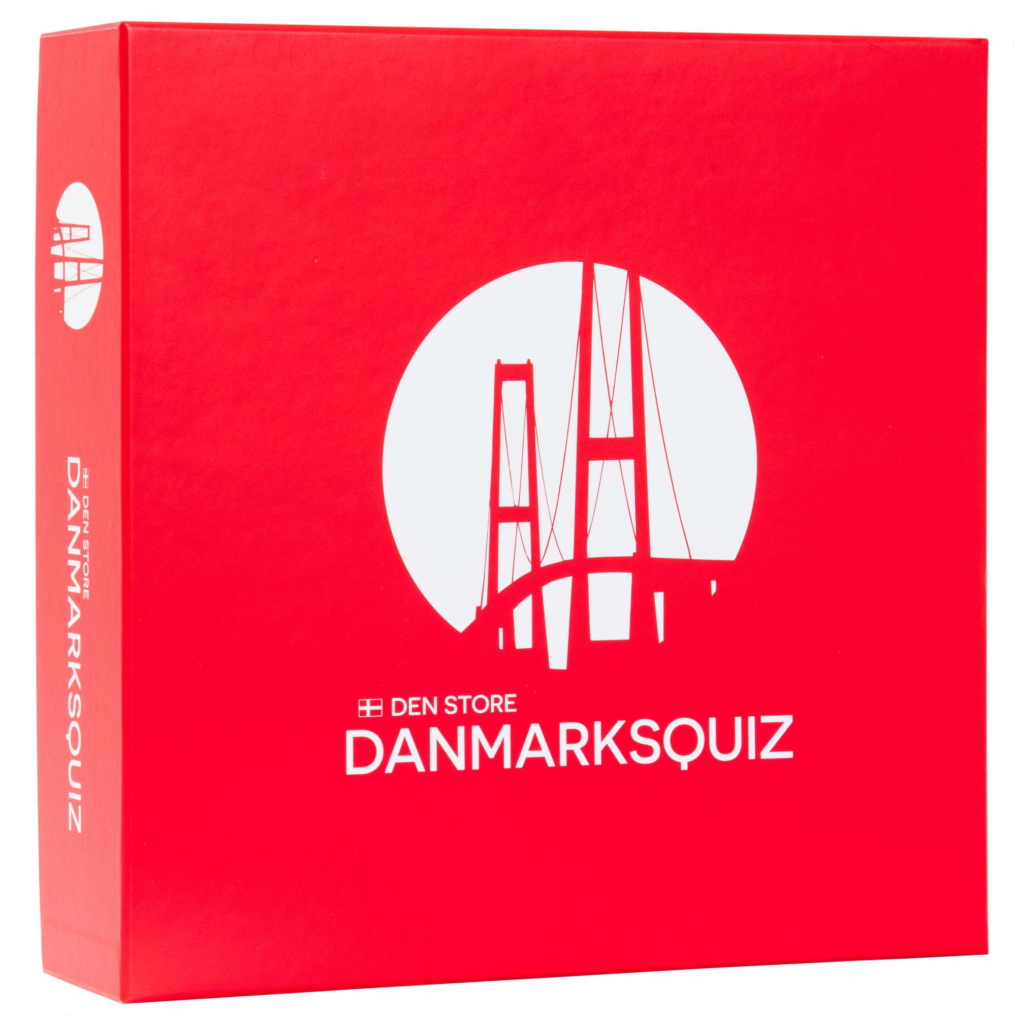 Klassisk quizspil med 1800 spørgsmål om Danmark