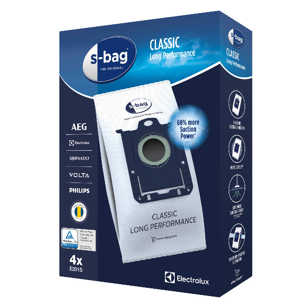 s-bag Classic Long Performance (3,5 liter)