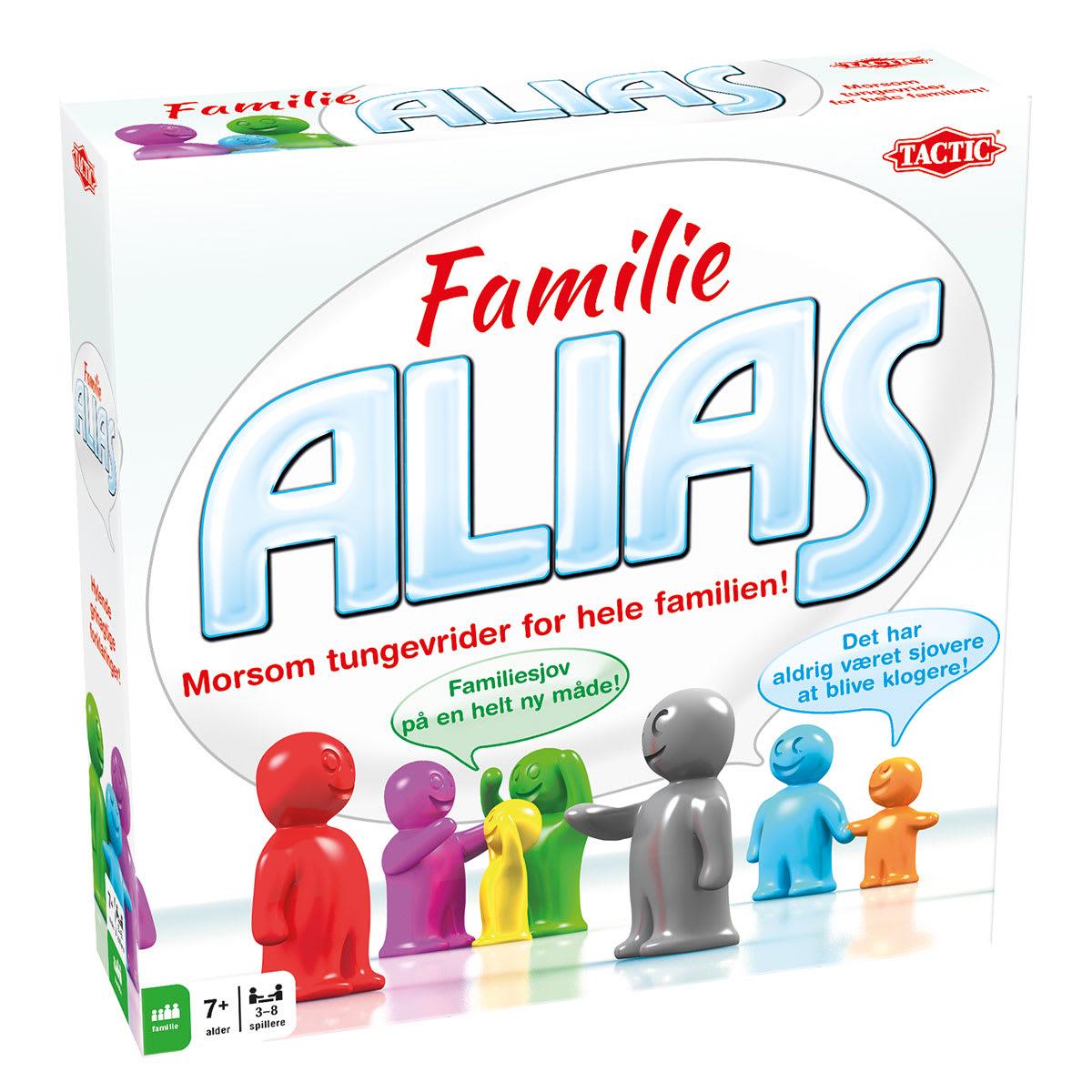 Det populære ordforklaringsspil i familievenlig udgave