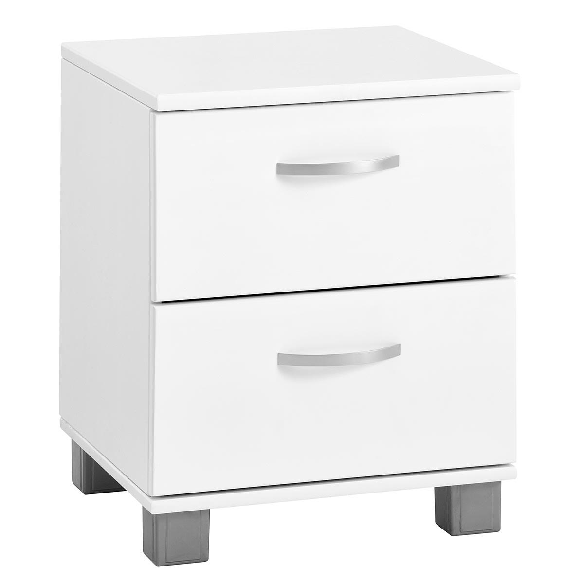 Natbord eller lille kommode til skrivebordet - 2 skuffer